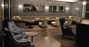 Gatwick airport Lounge seating area