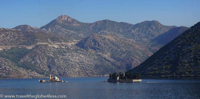 Kayaking in Kotor Bay