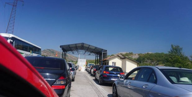 Montenegrin exit border
