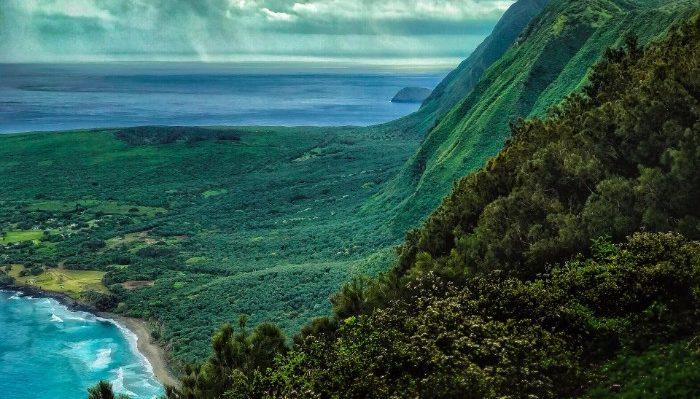 view of the Hawaiian islands