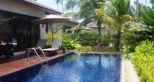 pool villa at the Residence