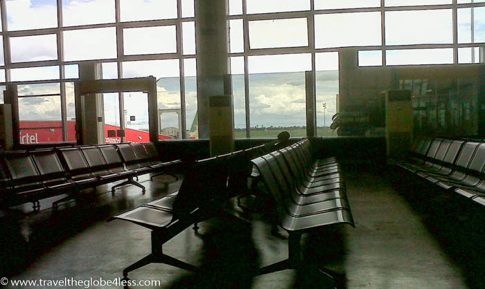 Departure lounge, Zanzibar