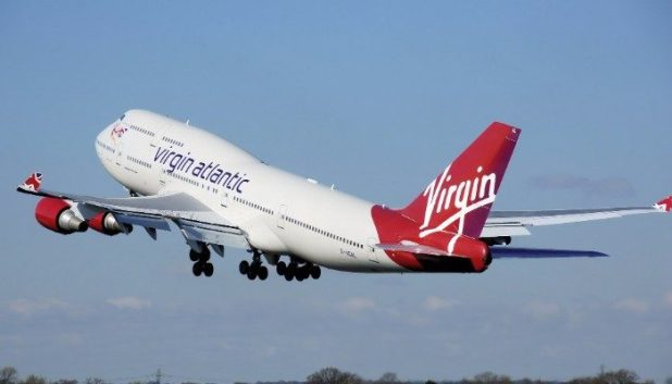 Virgin Airlines plane