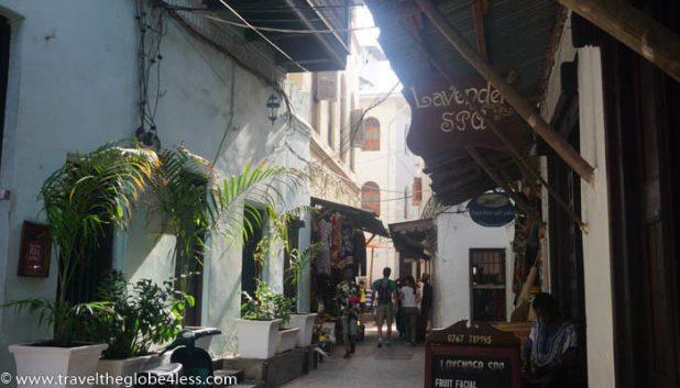 The Old town, Stonetown, Zanzibar