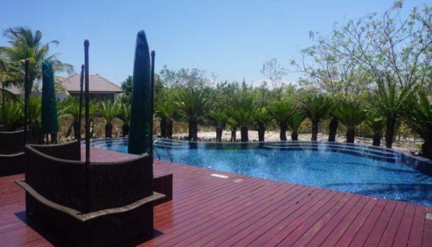 Residence Zanzibar spa pool