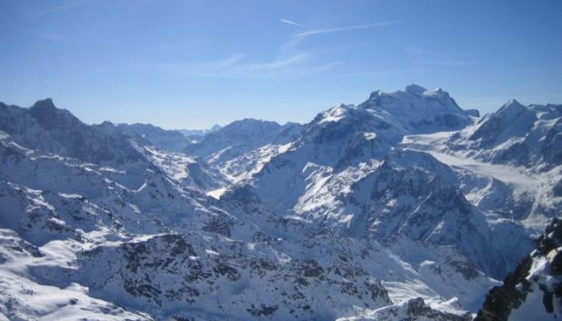 mountains of Verbier