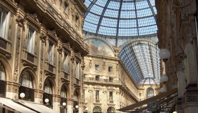 shopping gallery of Milan