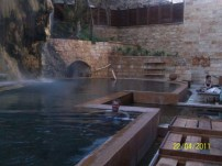 Spa pool at the Ma'in