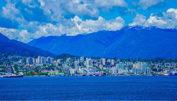 Vancouver mountain views