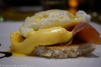 Grand Hotel Billia eggs benedict