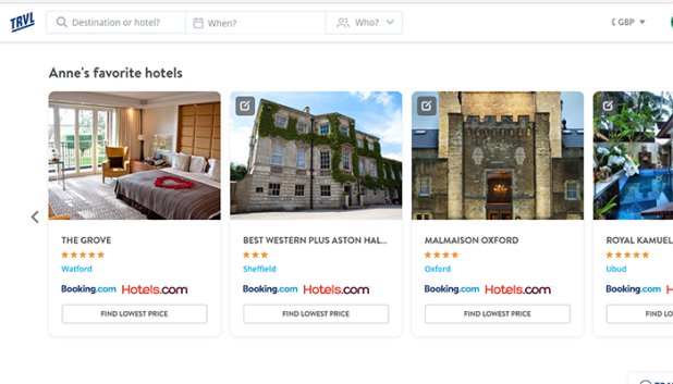 Hotel listings of my special places to stay