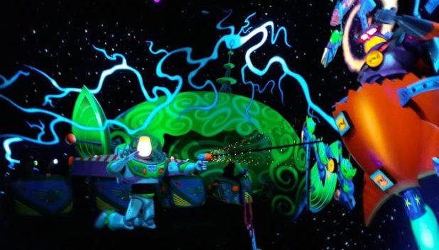 Disneyland Paris Buzz Lightyear Laser Blast