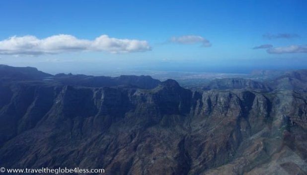 Table Mountain top, Cape Town
