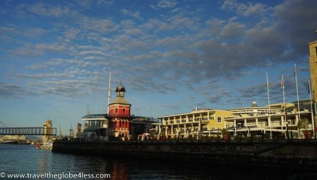 The Victoria and Albert waterfront tower