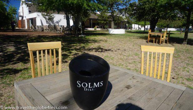 Solms Delta wine estate