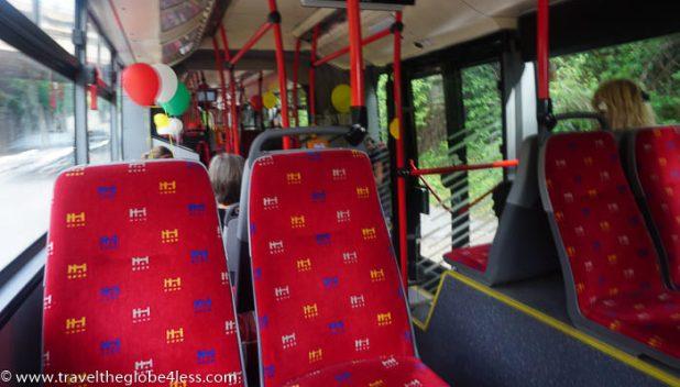 Bratislava bus interior