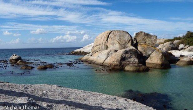 Boulders Penguin Colony lagoon