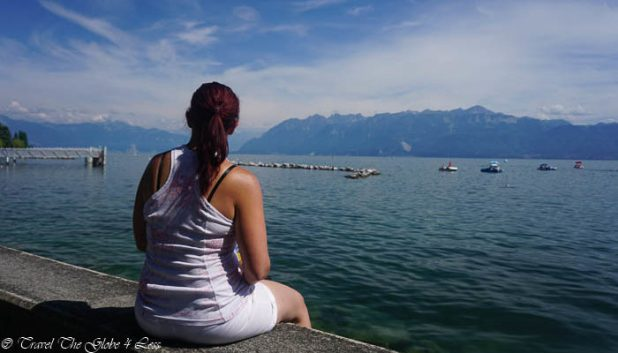 Me on the banks of Lac Leman