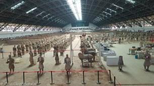Terracotta Warriors Pit 1 hangar