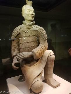 Terracotta Warriors Exhibition Hall warrior