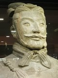 Terracotta Warriors Exhibition Hall warrior stern