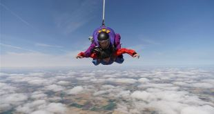 Skydiving in the UK to raise money for charity