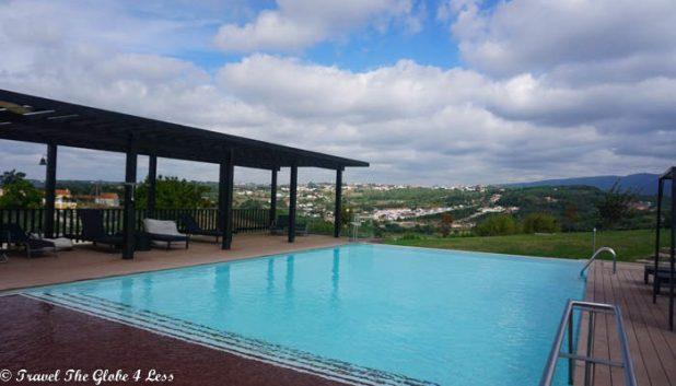 Real Abadia Hotel Spa swimming pool