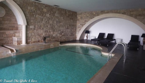 Real Abadia Hotel spa pool