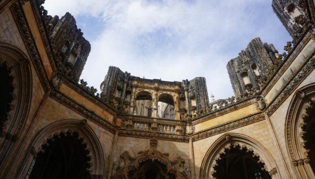 Octagonal chapel of Batalha Monastery