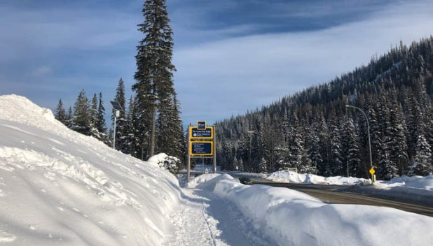 Sun Peaks cycle and pedestrian trail