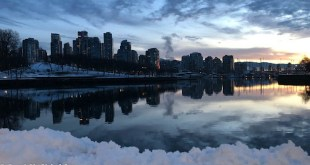 Vancouver False Creek at dawn