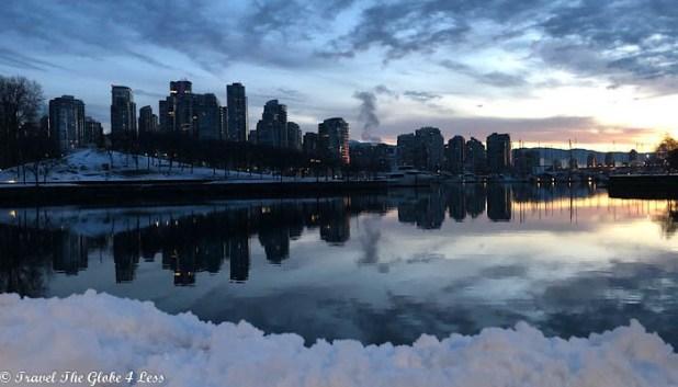 Vancouver False Creek at dawn