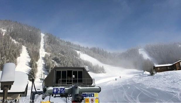 Burfield lift, Sun Peaks Resort