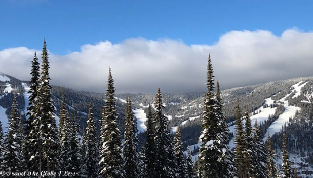 Sun Peaks Resort Morrisey Mountaint