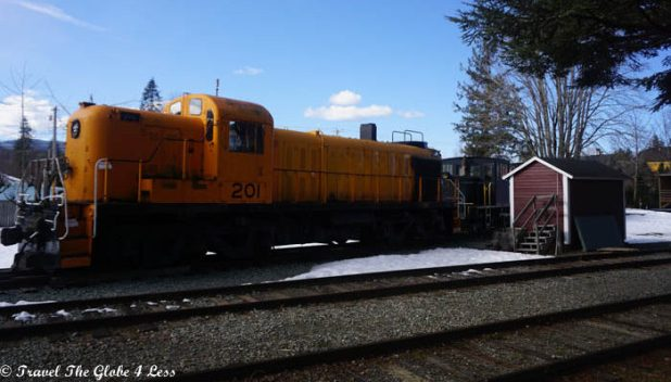 Rail road museum Snoqualmie