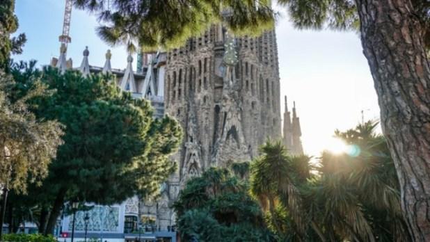 The Sagrada Familia, Barcelona