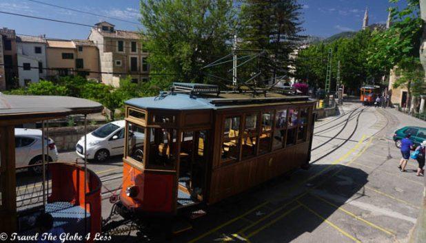 tram interchange Mallorca
