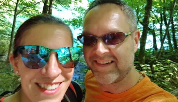 Plitvice Lakes selfie