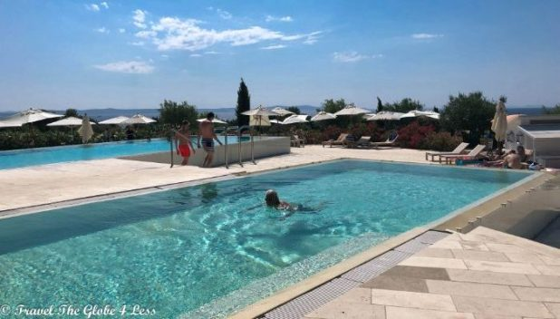 Falkensteiner Iadera outdoor pool