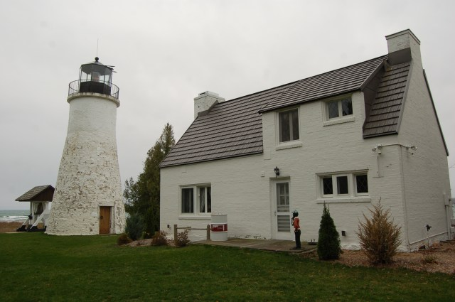 Image result for New Presque Isle Lighthouse, Michigan:
