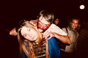 Elina e lo zombie al Lucca Comics