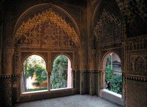 interno alhambra granada