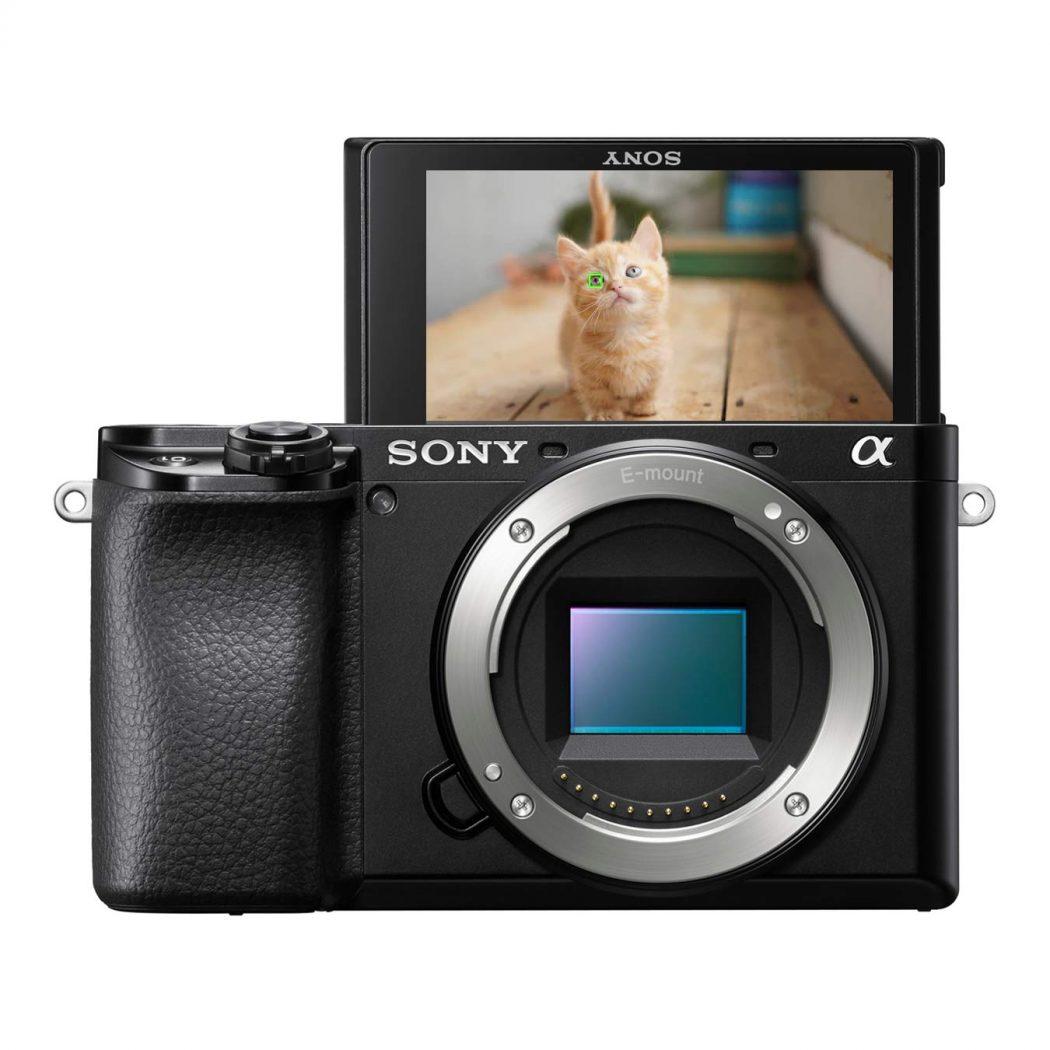 Sony Alpha 6100 Fotocamera Digitale Mirrorless Attrezzatura Travel Blogger
