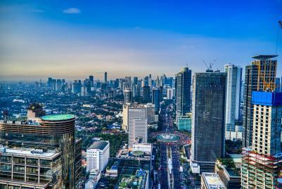 paesaggio Jakarta