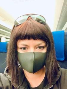 Marzia con Pitta Mask a Tokyo