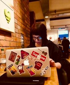 Marzia lavoro macbook londra