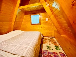 Camera da letto del Matilde's Chalet Nature House - ph M. Parmigiani