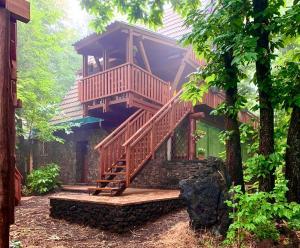 Vista del Matilde's Chalet Nature House - ph M. Parmigiani