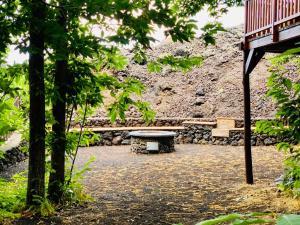 il pit fire Vista del Matilde's Chalet Nature House - ph M. Parmigiani