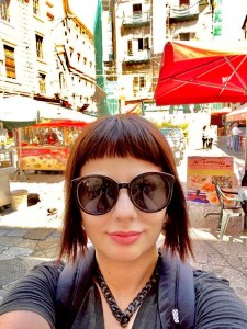 Marzia Traveltherapists al mercato Vucciria